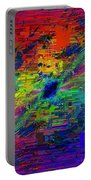 Abstract Cubed 77 Portable Battery Charger