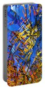 Abstract Curvy 11 Portable Battery Charger