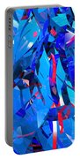 Abstract Curvy 15 Portable Battery Charger