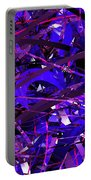Abstract Curvy 16 Portable Battery Charger