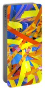 Abstract Curvy 22 Portable Battery Charger