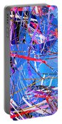 Abstract Curvy 31 Portable Battery Charger