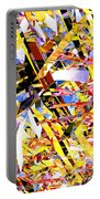 Abstract Curvy 33 Portable Battery Charger