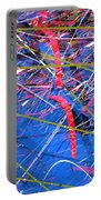 Abstract Curvy 46 Portable Battery Charger