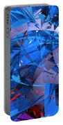 Abstract Curvy 9 Portable Battery Charger