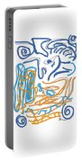 Abstract Digital Portable Battery Charger