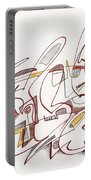 Abstract Drawing Fifteen Portable Battery Charger