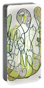 Abstract Drawing Forty-four Portable Battery Charger