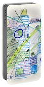 Abstract Drawing Seven Portable Battery Charger