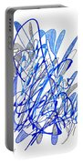 Abstract Drawing Seventy Portable Battery Charger