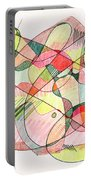 Abstract Drawing Twenty Portable Battery Charger