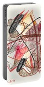Abstract Drawing Twenty-one Portable Battery Charger
