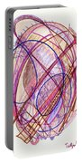 Abstract Drawing Twenty-two Portable Battery Charger