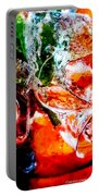 Abstract Drink Portable Battery Charger