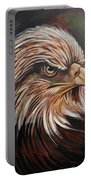 Abstract Eagle Painting Portable Battery Charger