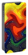 Abstract Eight Of Twenty One Portable Battery Charger