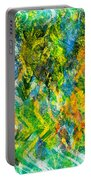 Abstract - Emotion - Admiration Portable Battery Charger