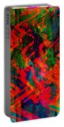 Abstract - Emotion - Rage Portable Battery Charger