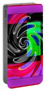 Abstract En Coulor Portable Battery Charger