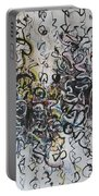 Abstract Expressionism 221 Portable Battery Charger