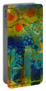 Abstract Expressions - Background Art Portable Battery Charger