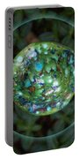 Abstract Fairy House Garden Art By Omaste Witkowski Owfotografik Portable Battery Charger