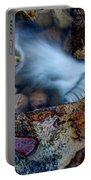 Abstract Falls Portable Battery Charger