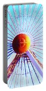 Abstract Ferris Wheel Portable Battery Charger