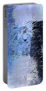 Abstract Floral - Bl3v3t1 Portable Battery Charger