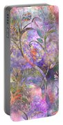 Abstract Floral Designe  Portable Battery Charger