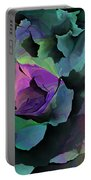 Abstract Floral Expression 041213 Portable Battery Charger