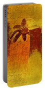 Abstract Floral - P01bt01c11c Portable Battery Charger