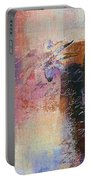 Abstract Floral - Xs01bt2 Portable Battery Charger