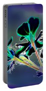 Abstract Flower - Digital Abstract Portable Battery Charger