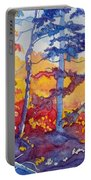 Abstract Forest No. 1 Portable Battery Charger