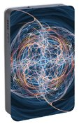Abstract Fractal Background 08 Portable Battery Charger