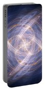 Abstract Fractal Background 17 Portable Battery Charger