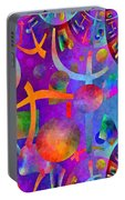 Abstract Fractillious - Episode One  Southwestern Portable Battery Charger