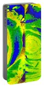 Abstract Fusion 195 Portable Battery Charger by Will Borden