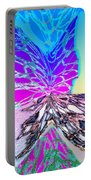 Abstract Fusion 196 Portable Battery Charger by Will Borden