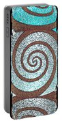 Abstract Fusion 231 Portable Battery Charger by Will Borden