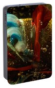 Abstract Glass Portable Battery Charger