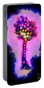 Abstract Glowball Tree Portable Battery Charger by Pixel Chimp