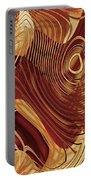 Abstract Gold 3 Portable Battery Charger