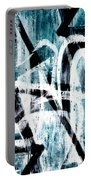 Abstract Graffiti 4 Portable Battery Charger