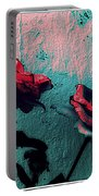 Abstract Hdr Roses Portable Battery Charger