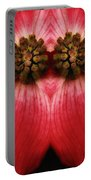 Nature In Abstract Dogwood Blossom 2 Portable Battery Charger