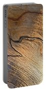 Abstract In Old Wood Portable Battery Charger