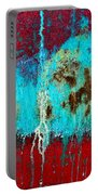 Abstract In Red 6 Portable Battery Charger