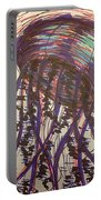 Abstract Jellyfish In Ink Portable Battery Charger